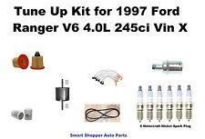 Tune Up Kit For 1997 Ford Ranger Serpentine Belt, Spark Plug Wire Set Filter PCV