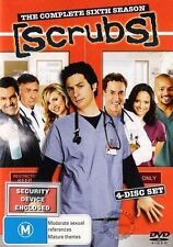 SCRUBS SEASON 6 : NEW DVD