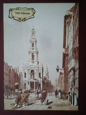 POSTCARD LONDON THE STRAND - LINEN TYPE - BY THOMAS SHOTTER BOYS