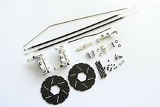 Aluminum Cable 2 Wheel Front Brake system Mechanical Kit Fit HPI Baja 5B Silver