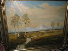 KNOBLOCH Josef Rolf, *1891 Landschaft bei Bad Aibling - Rosenheim