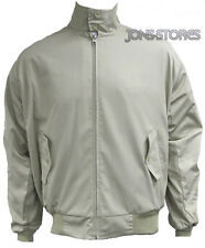 CLASSIC BEIGE  HARRINGTON JACKET MOD SCOOTER STEVE McQUEEN STYLE  by RELCO