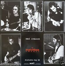 "Matchbox Twenty ""Mad Season"" U.S. Promo Poster - Alternative Rock Music"