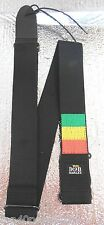 Bob Marley Band Tri Stripe Official Guitar Strap L@@K!
