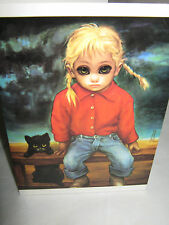 "BIG EYES 1964 Margaret Keane ""THE WILDCAT"" Greeting Card / Envelope (NEW)"