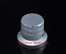 10 ps silver solid Aluminum Knob 40x33 mm potentiometer Alps volume control