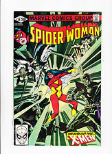 Spider-Woman  No.38    : 1981 :    : X-Men App! :