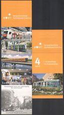 Finland 2007 Trains/Trams/Rail/Railways/Public Transport 4v s/a bklt (n34546)