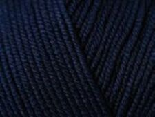 RICO ESSENTIALS dk knitting COTTON - shade 38 navy blue