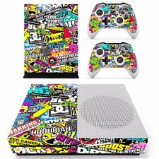 Vinyl Decal Skin Cover Sticker Film For  XBOX ONE Slim ONE S Hoonigan Full Body
