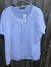 Ladies Bundle Of Tops Size 24 By Marks And Spencer And Bonmarche (D574)