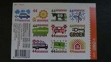 Netherlands Scott #1297a-j 2008 Self Adhesive Save the Environment
