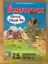 TORFROCK 1994 HAMBURG  -  orig.Concert-Konzert-Poster-Plakat  A1