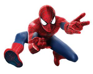Spiderman Marvel Avengers 3d View Wall Sticker Removable Children Bedroom 5