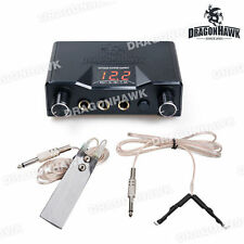 Tattoo LCD Digital Power Supply Foot Switch Clip Cord TP069+TE002+TY002