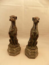 Dog Statues Pointers Hunting Bird Dog SMC Decorative Shelf Regal NOS GreyHound