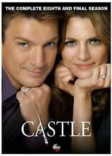 Castle: Season 8, Season Eight, (New Dvd Set), Fast, First Class Shipping!
