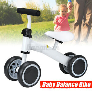 Kids Balance Bike Toddler Push Scooter Baby Walker Tricycle 4 Wheels Bicycle AU!