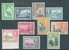 Gold Coast 1948 ten values to 10/- all MNH