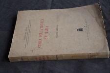 Libro - Storia moneta in Italia Parte antica Ricci Ceda 1937 Manoscritto tavole
