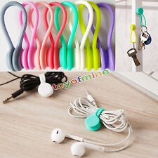 9pcs Multifunction Magnet Earphone Cord Winder Cable Holder Organizer Clip Hubs