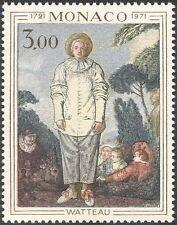 MONACO 1972 Antoine Watteau/Artisti/PITTORI/arte/DIPINTI/PEOPLE 1v (n43807)