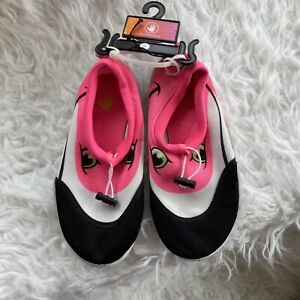 NEW BODY GLOVE Kids Youth Size 2 Water Shoes Sea Pal Flamingo Pink Pool Beach