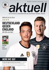 Länderspiel 26.03.2016 Deutschland - England in Berlin