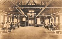 Vintage USA c1907-15 Postcard Camp Wallkill Mess Hall New Platz NY New York 48Y