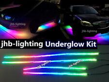 jhb-lighting 2PCS 4FT + 2PCS 6.5FT IP68 Chasing LED Underglow Strips Lights Kit
