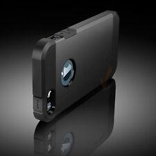 Premium Armor TPU Case For Apple iPhone 5 5S  Black Grey Color