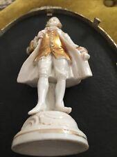 """Antique Potschappel Germany Porcelain """"Gentlemen """"Figurine"""