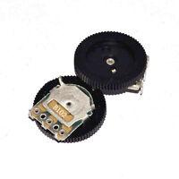 10PCS 1K Ohm B102 Gear Pulley Wheel Audio Potentiometer 16x2mm NEW