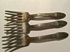 1847 Rogers First Love Baby Fork qty 3