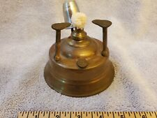 New listing Antique Brass Turkish Coffee Maker; tabletop alcohol burner with snuffer & wick