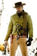 Jamie foxx signed autógrafo 20x30cm Django en persona Autograph tarantino