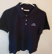 Ladies Penn State Nittany Lions Cutter & Buck Navy Blue Polo  ShirtSize Large