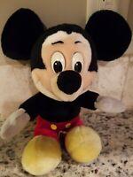 Vintage Disneyland Walt Disney World Theme Parks Plush Stuffed MICKEY MOUSE