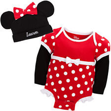 Authentic Disney Store baby Minnie mouse costume 6 - 12 months 100% organic