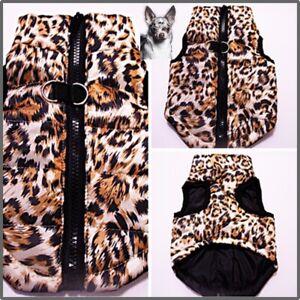 ⚪Leo Hundeweste Softgeschirr Mantel Welpe Jacke Winter Chihuahua Pullover XS-L