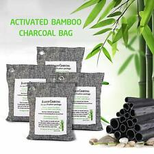 Air Purifying Bag Purifier Nature Fresh Charcoal Bamboo Mold Freshener 4 Bags