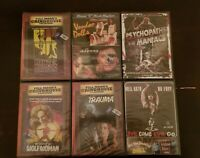 LOT OF 6 HARD TO FIND CLASSIC HORROR DVD MOVIE AND SET COLLECTIONS NEW SEALED
