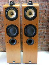 Pair Of B&W Bowers & Wilkins 704 Bi-Wire Floorstanding Loudspeakers