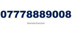 GOLD EASY MEMORABLE VIP UK MOBILE PHONE NUMBER PLATINUM SIM 888888 777 888 07778