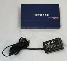 Netgear Ps111W Fast Ethernet Print Server Parallel Interfaces w/Ac Adapter