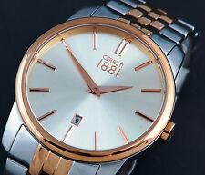 Cerruti 1881 Edelstahl silber rosègold Herren Uhr Pavia NEU UVP* 239,00 € C204