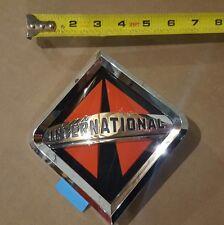 New OEM International Truck Front Emblem Badge Grille Large w/ Glue Strip