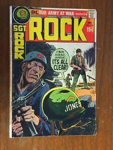 SGT. ROCK war Comic 1970  #226