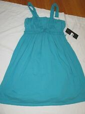 New Isobella & Chloe Dress Girls Size 14 NWT Sophia Turquoise Flowers Beaded