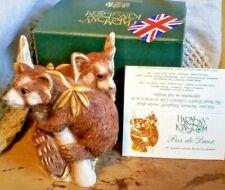 Harmony Kingdom Pas De Deux 2 Red Pandas Uk Made Marble Resin Box Figurine Tjpa2